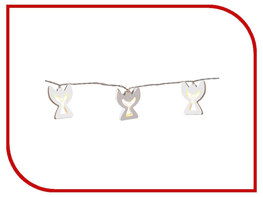Гирлянда Star Trading AB Wooden Angels 1.85m 10 LED White 728-42