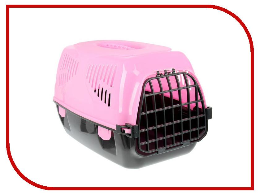 Переноска СИМА-ЛЕНД Сириус 33.5x31x50cm Pink 1455783