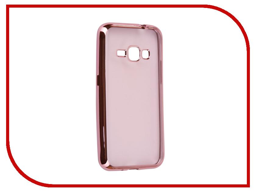 Аксессуар Чехол Samsung Galaxy J1 2016 J120F Svekla Flash Silicone Pink Frame SVF-SGJ120F-PINK samsung galaxy j1 2016 sm j120f black