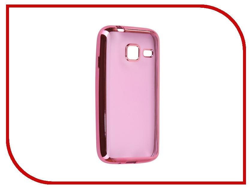 Аксессуар Чехол Samsung Galaxy J1 mini 2016 J105F Svekla Flash Silicone Pink Frame SVF-SGJ105F-PINK аксессуар чехол накладка samusng galaxy j1 mini caseguru liquid 87803