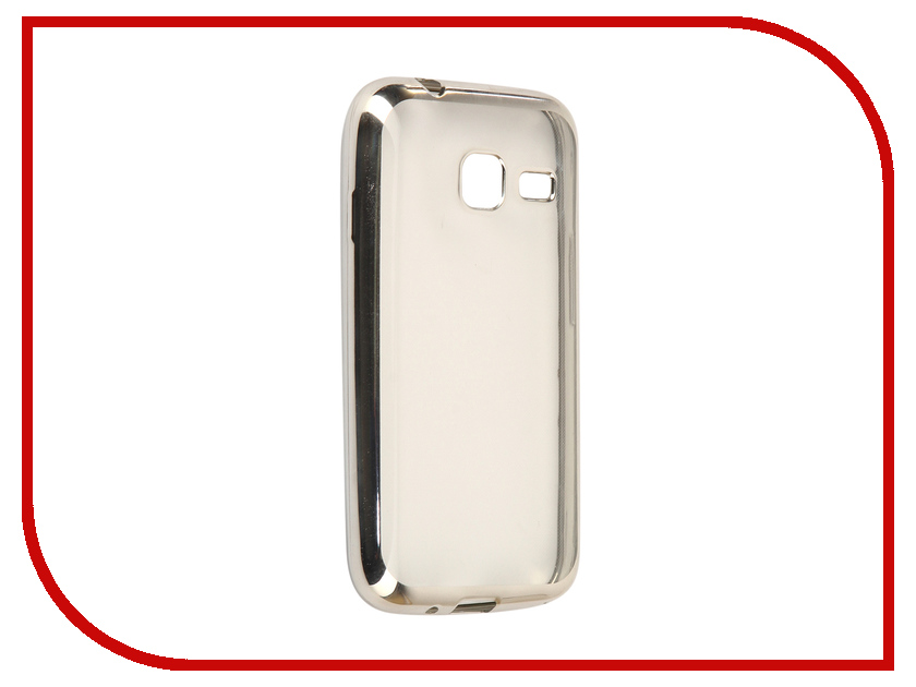 Аксессуар Чехол Samsung Galaxy J1 mini 2016 J105F Svekla Flash Silicone Silver Frame SVF-SGJ105F-SIL аксессуар чехол samsung galaxy a5 2017 a520f svekla flash silicone silver frame svf sga520f sil