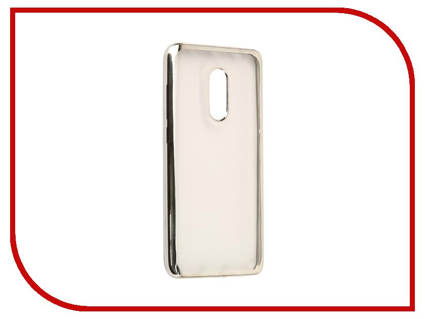 Аксессуар Чехол Xiaomi Redmi Note 4X Svekla Flash Silicone Silver Frame SVF-XIREDN4X-SIL