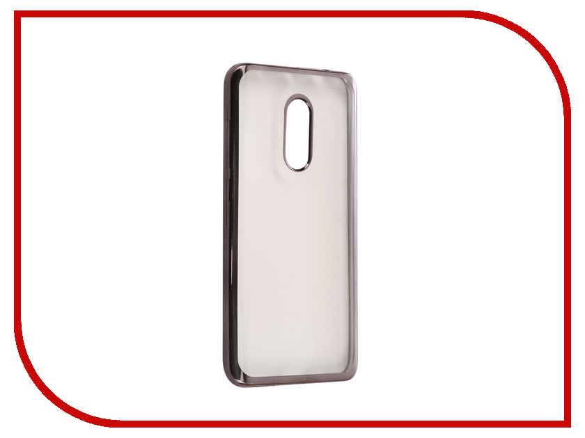 Аксессуар Чехол Xiaomi Redmi Note 4X Svekla Flash Silicone Black Frame SVF-XIREDN4X-BL аксессуар защитное стекло xiaomi redmi note 4x borasco full cover black 0 2mm