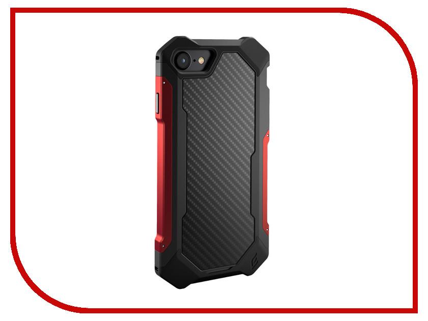 Аксессуар Чехол Element Case Sector для APPLE iPhone 8 / 7 Black-Red EMT-322-133DZ-29 аксессуар чехол cojess book case new для apple iphone 7 7s black