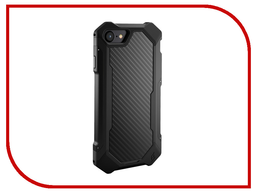 Фото Аксессуар Чехол Element Case Sector для APPLE iPhone 8 / 7 Black-Carbon EMT-322-133DZ-02