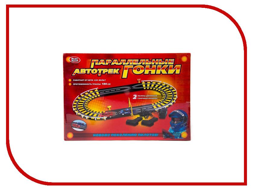 Автотрек Play Smart A144-H06056 play smart металлич инерц машина автопарк play smart м1 50 box 12x5 7x6 8 см арт 6402b а74784