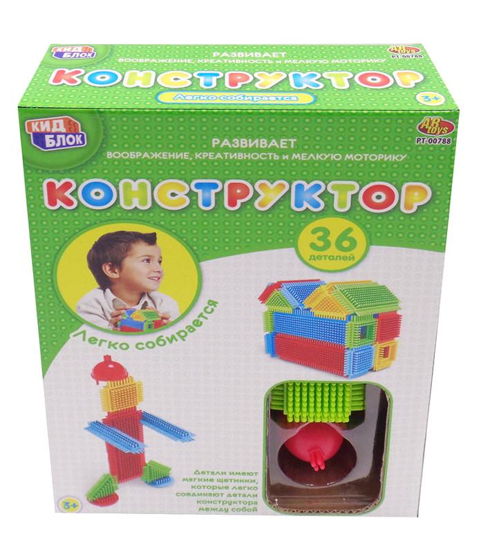 Конструктор ABtoys KidBlock 36 дет. PT-00788