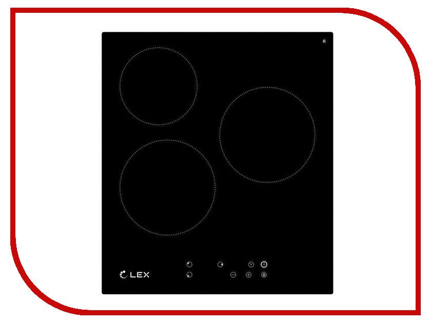 Варочная панель LEX EVH 430 BL Black
