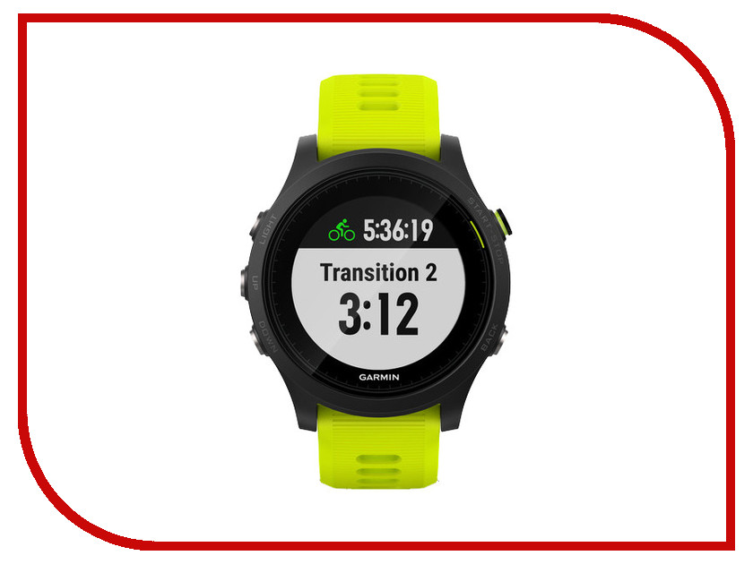 Умные часы Garmin Forerunner 935 Tri-Bundle Black-Green 010-01746-06
