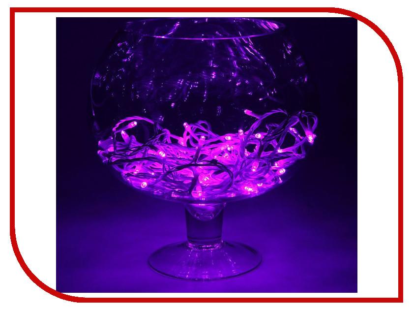 Гирлянда Luazon Метраж 10m LED-100-24В Purple 1586019 гирлянда luazon конский хвост капля росы 2 5m led 750 12v multicolor 1080622