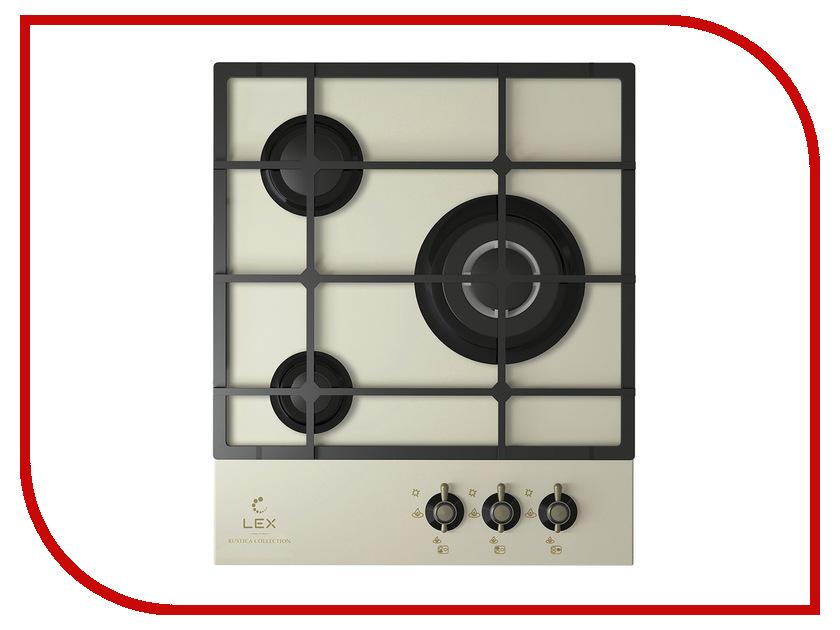 Варочная панель LEX GVG 431C IV электрическая плита lex evh 431 bl