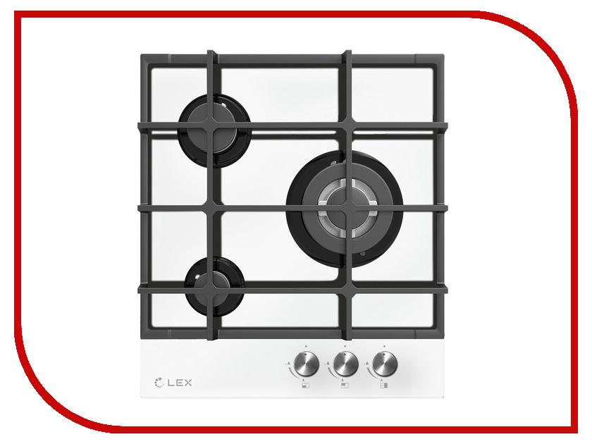 Варочная панель LEX GVG 431 WH White электрическая плита lex evh 431 bl