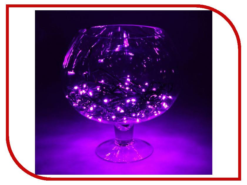 Гирлянда Luazon Метраж 10m LED-100-24В Purple 1586006 гирлянда luazon метраж свечка 5m led 20 220v multicolor 2388694