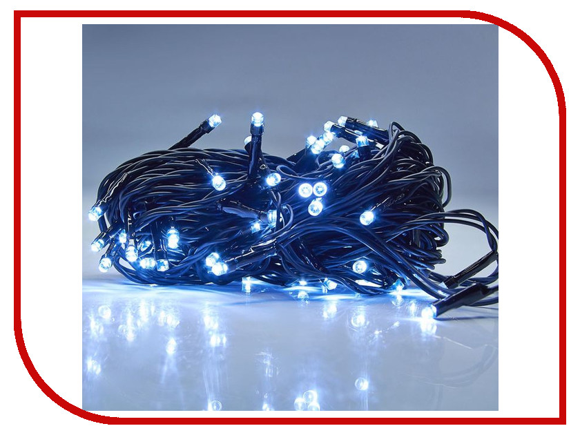 Гирлянда Luazon Метраж 10m LED-100-24В White 1586000 гирлянда luazon спайдер led 600 24в 20m multicolor 1586037