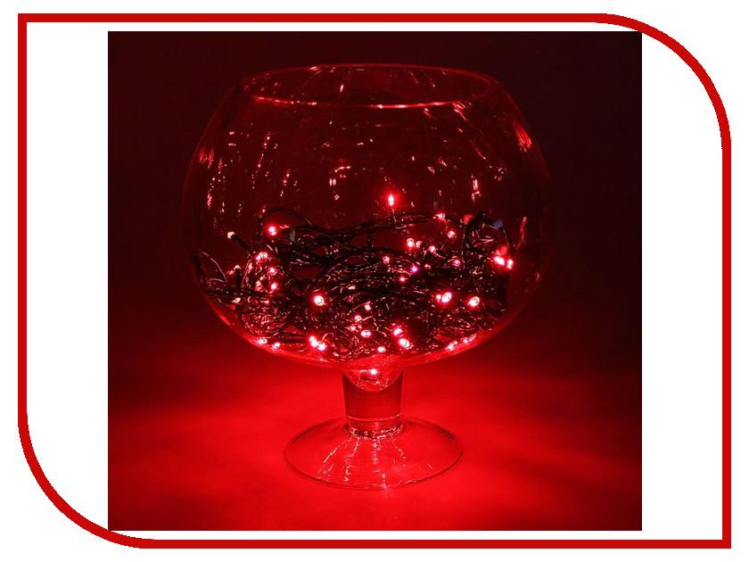 Гирлянда Luazon Метраж 10m LED-100-24В Red 1586004 гирлянда luazon конский хвост капля росы 2 5m led 750 12v multicolor 1080622