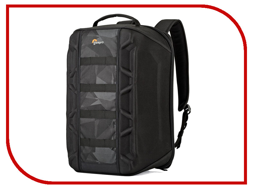 LowePro DroneGuard BP 400 Black-Fractal 87523 lowepro droneguard cs 300 black noir сумка для дрона