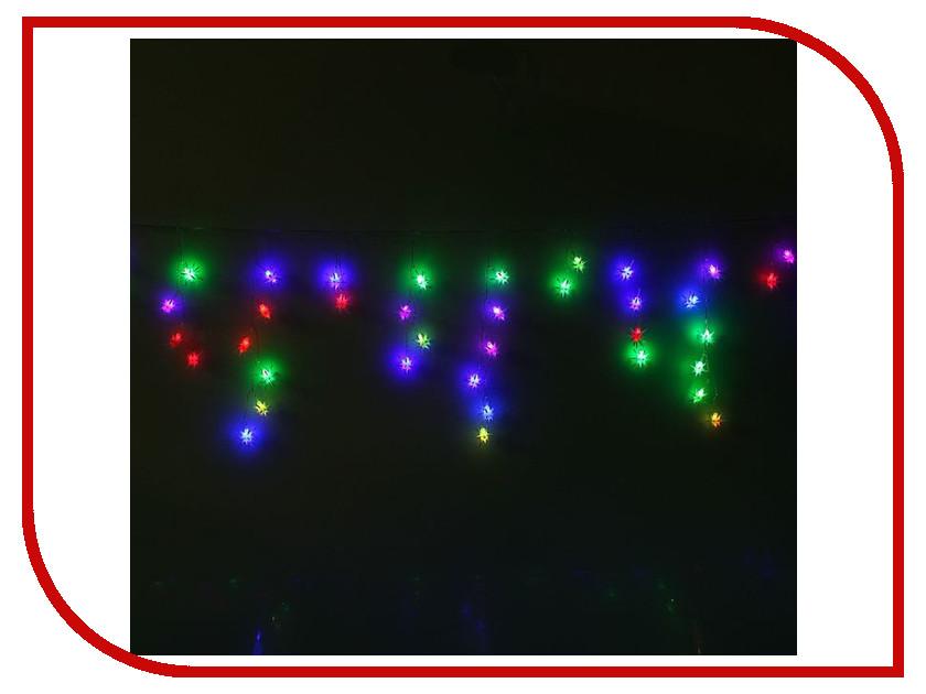 Гирлянда Luazon Бахрома 1.4x0.3m LED-48-220V Multicolor RG/RB 1080441 гирлянда luazon метраж свечка 5m led 20 220v multicolor 2388694