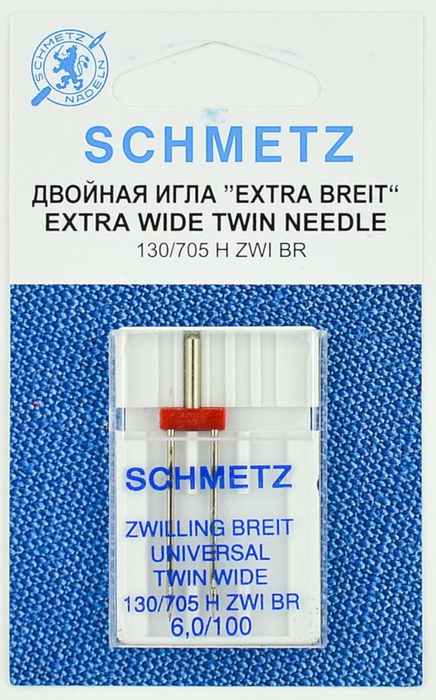 Двойная иглы Schmetz №100/6 130/705H ZWI 1шт