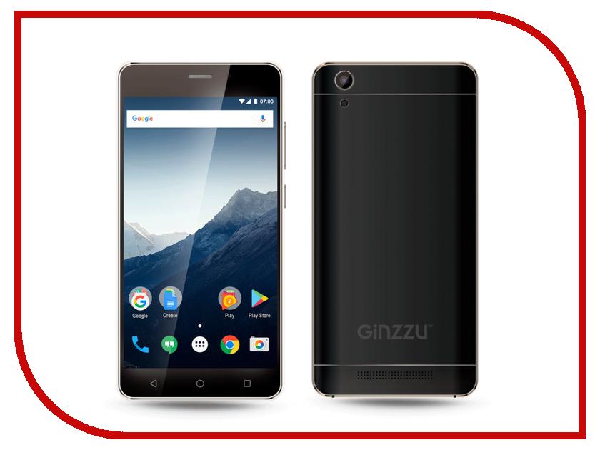 Сотовый телефон Ginzzu S5002 Black сотовый телефон archos sense 55dc 503438
