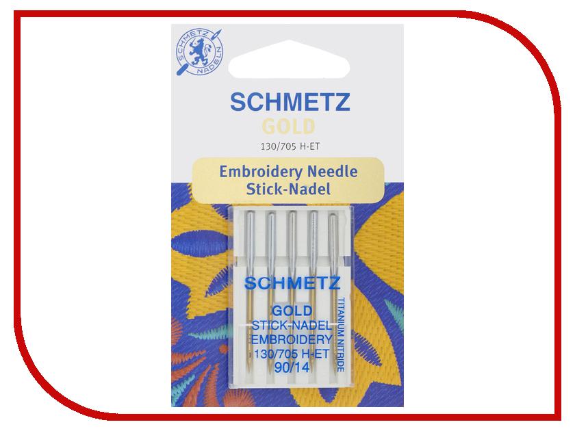 Иглы для вышивки Schmetz №90 130/705H-ET 5шт купить экстера 705