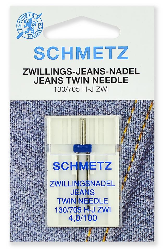 Набор игл для джинсы Schmetz №100/4 130/705H-J ZWI 1шт