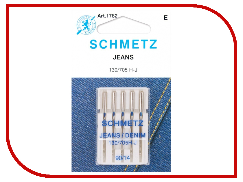 Набор игл для джинсы Schmetz №90 130/705H-J 5шт 3dm2283 leadshine digital microstep drive 3 phase 11 7a ac180 240v fit 86 110 130 motor