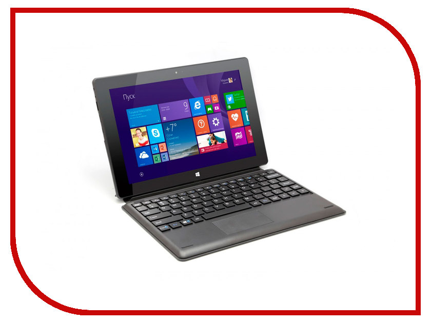 Планшет Irbis TW60 (Intel Atom Z3735G 1.8 GHz/1024Mb/32Gb/Wi-Fi/Bluetooth/Cam/10.1/1280x800/Windows 10)