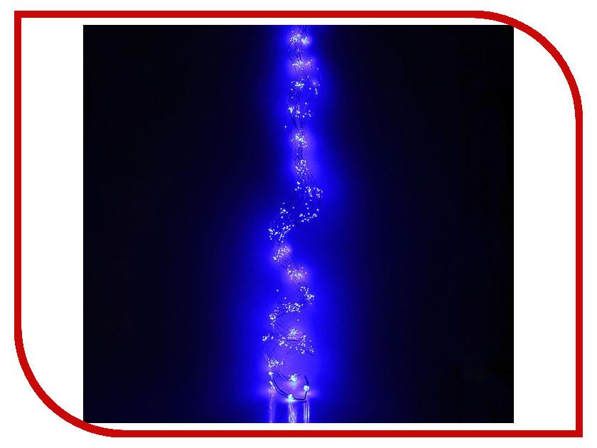 Гирлянда Luazon Конский хвост (капля росы) 2.5m LED-750-12V Blue 1080624