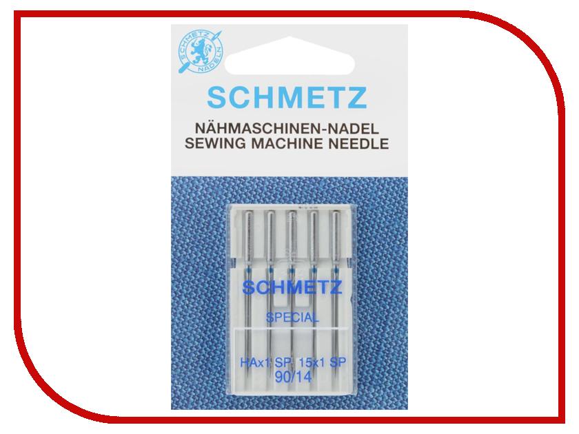 Набор игл для оверлоков Schmetz №90 HAx1SP 5шт