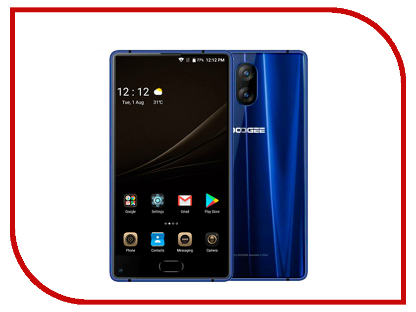 Сотовый телефон DOOGEE Mix Lite Blue мобильный телефон doogee mix lite синий