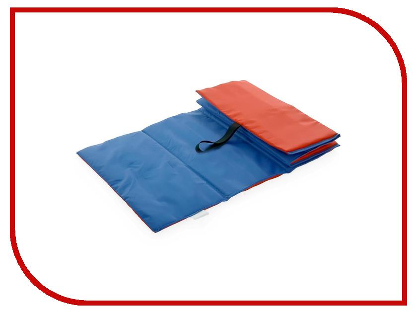 Коврик Indigo SM-043 Детский Blue/Red indigo коврик для йоги indigo