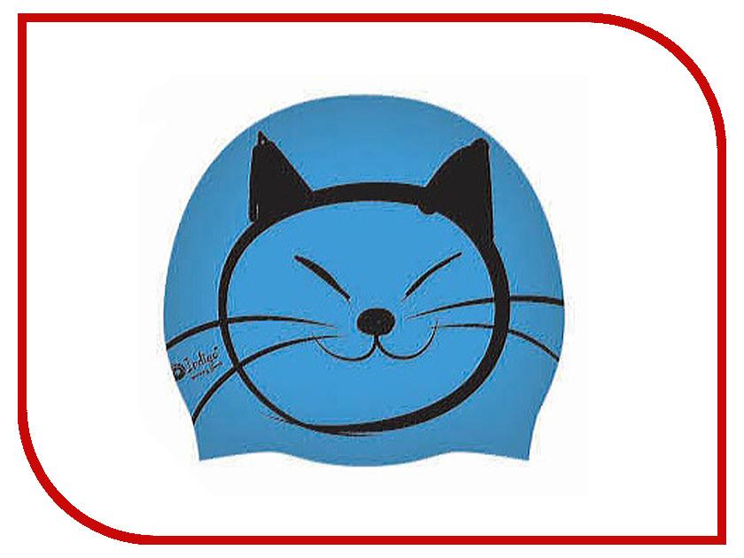 Шапочка Indigo Silicone SCCT508 Детская Light Blue offex home office lucent task chair chrome indigo blue
