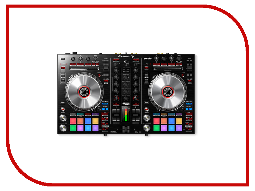 Dj контроллер Pioneer DDJ-SR2 3d mechanical eye personality creative removable wall sticker
