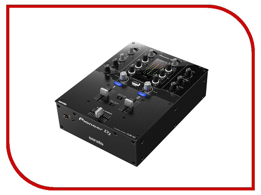 Пульт Pioneer DJM-S3 s3 2 16 dgmedia
