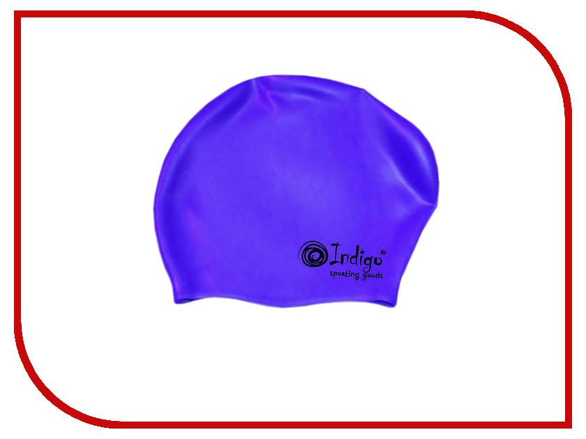 Шапочка Indigo Silicone 803 SC Для длинных волос Blue