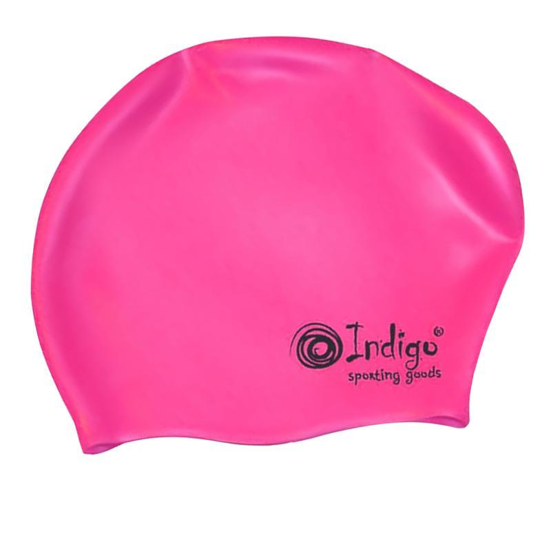 Шапочка Indigo Silicone 805 SC Для длинных волос Pink