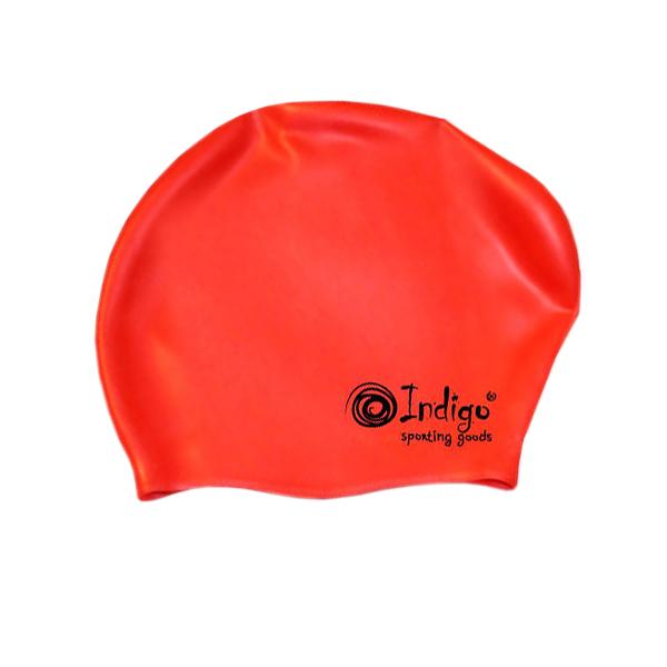 Шапочка Indigo Silicone 807 SC Для длинных волос Red