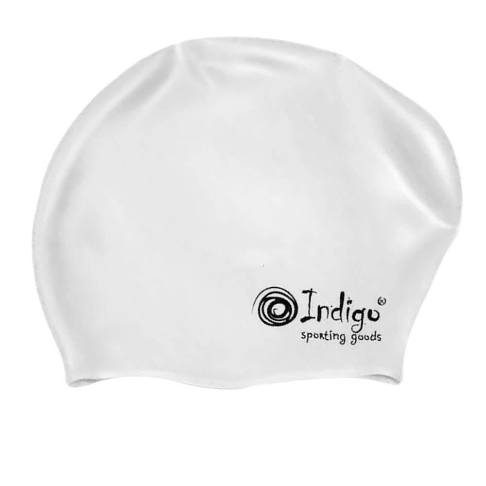 Шапочка Indigo Silicone 809 SC Для длинных волос White