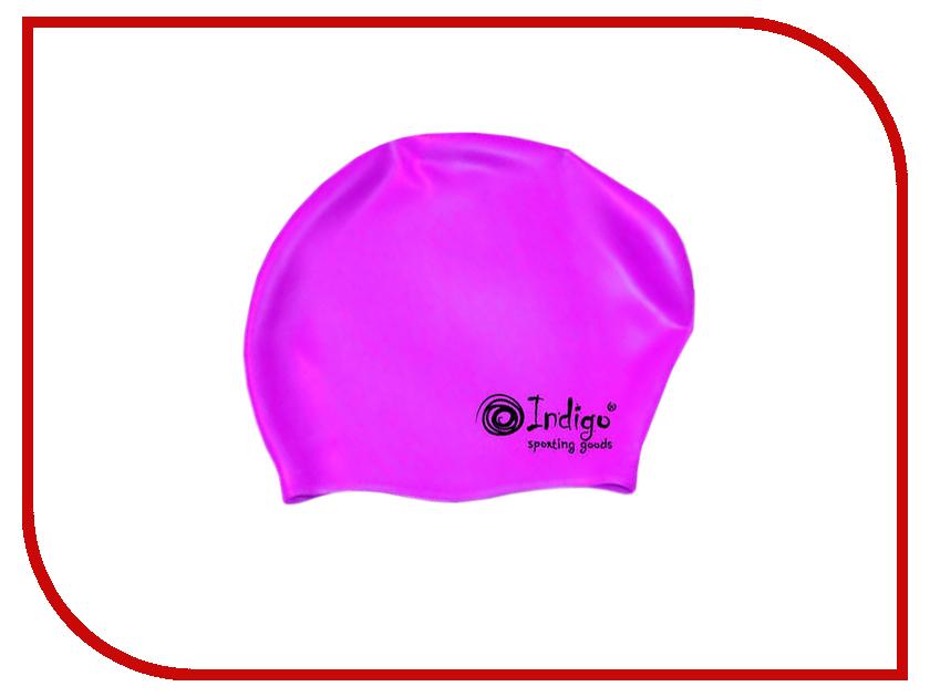 Шапочка Indigo Silicone 800 SC Для длинных волос Violet