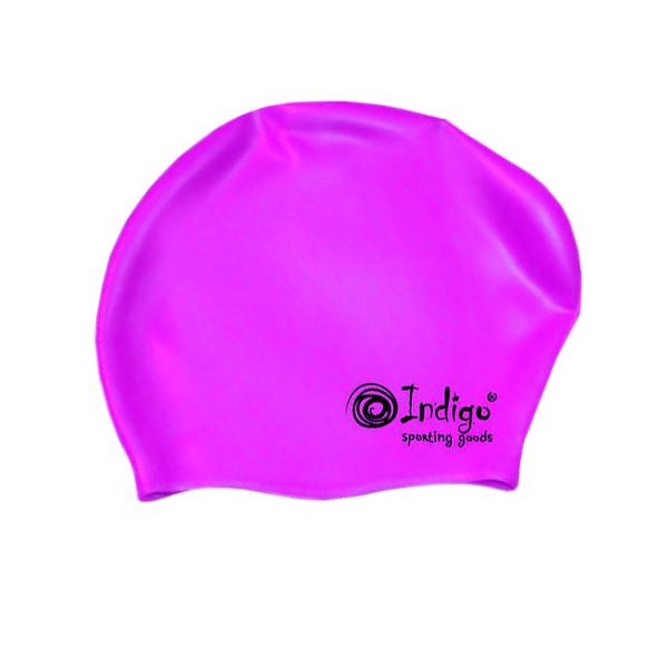 Шапочка Indigo Silicone 800 SC Для длинных волос Violet очки indigo 108 g violet