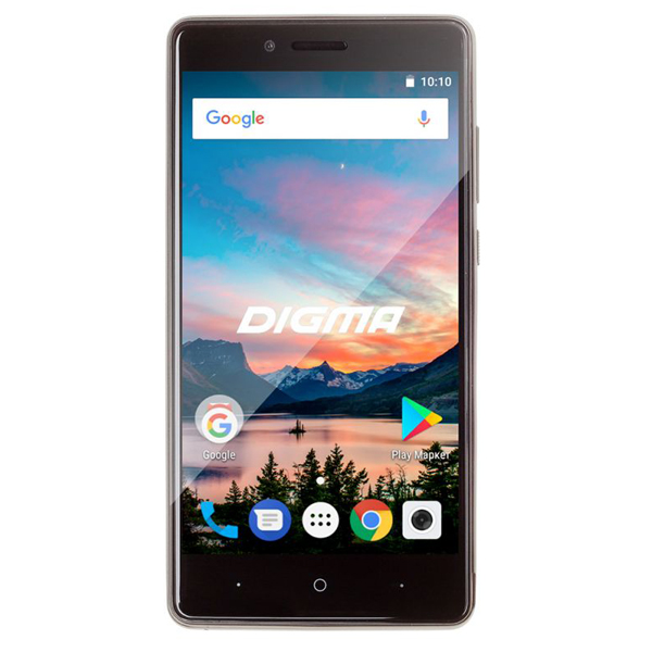 Сотовый телефон Digma HIT Q500 3G Black смартфон digma hit q500 3g 8gb 1gb black