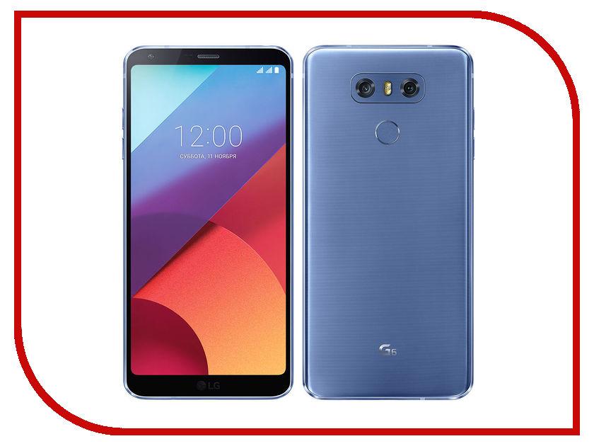 Сотовый телефон LG H870S G6 32Gb Blue телефон lg p875