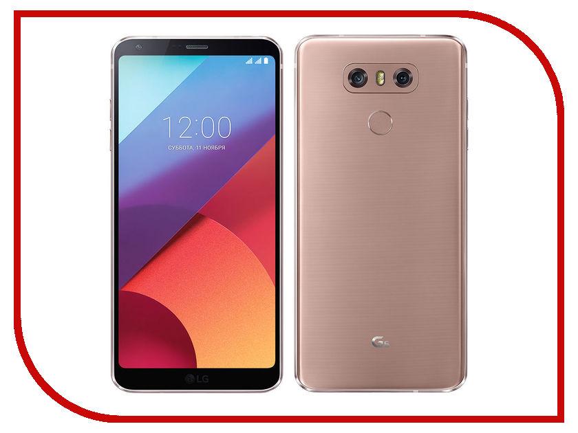 Сотовый телефон LG H870S G6 32Gb Gold смартфон lg g6 lgh870s 4g 32gb gold