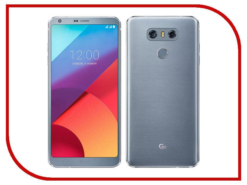 Сотовый телефон LG H870S G6 32Gb Platinum смартфон lg g6 h870ds black