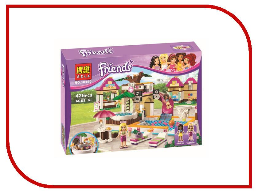 Конструктор Bela Friends 10160 Городской бассейн bela 10497 building bricks friends series adventure camp tree house 41122 emma mia figure educational toys for children gifts