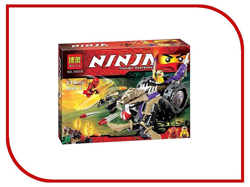 Конструктор Bela Ninja 10318 Разрушитель клана Анакондрай 755pcs bela 10325 ninja db x nya pythor kai masters of spinjitzu ninja building block toys compatible with lego