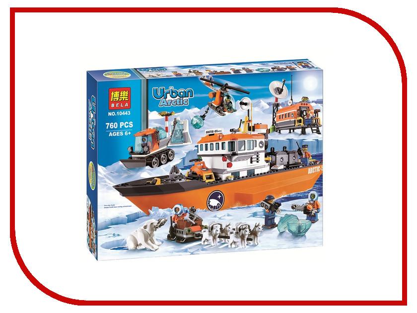Фото Конструктор Bela Urban 10443 Ледокол и полярная станция с транспортом