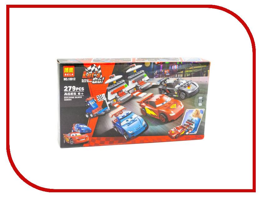 Конструктор Bela Cars 10012 Крутой гоночный набор 10 cars lot 100