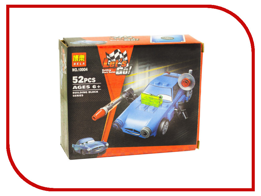 Конструктор Bela Cars 10004 Финн МакМисл 10 cars lot 100