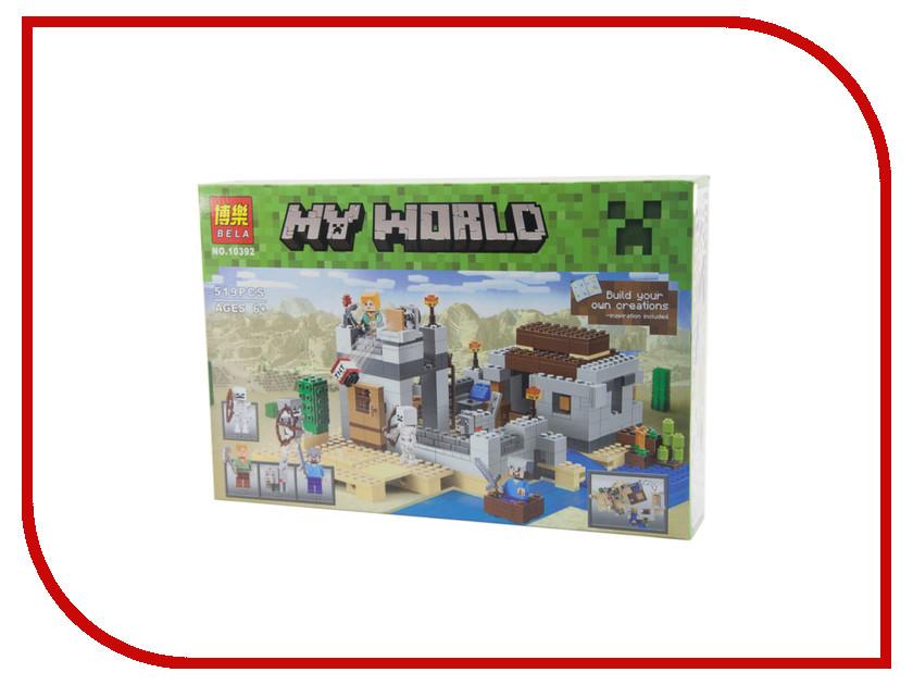 Конструктор Bela My World 10392 Пустынная станция esbaum jill explore my world nighttime